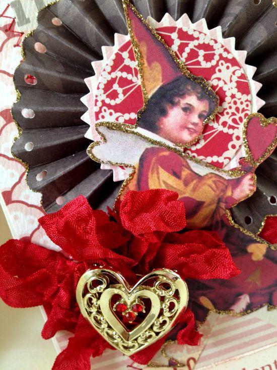 Vintage Handmade Valentine Card