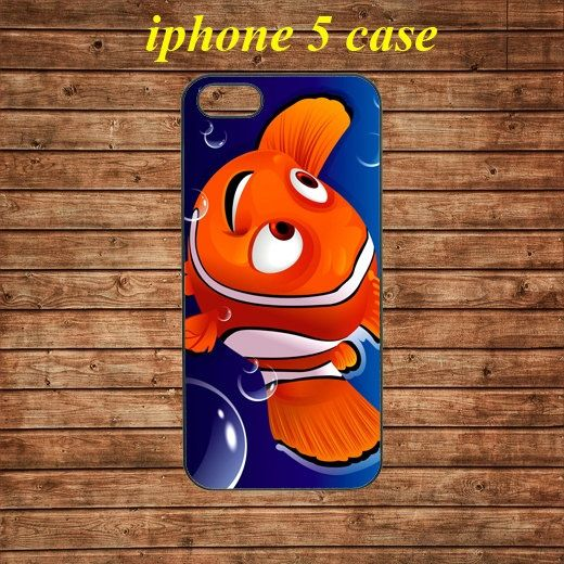iphone 5 case,iphone 5 hard case,iphone 5 cover,iphone 5 hard cover -Nemo cartoon parody
