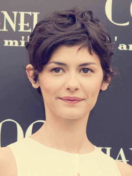Short Wavy Pixie Hairstyle 2013 - 2014