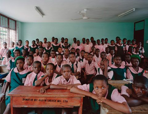 """Julian Germain's book """"Classroom Portraits"""" captures the similarities and differences of the primary school experience around the world. www.americanphoto..."""