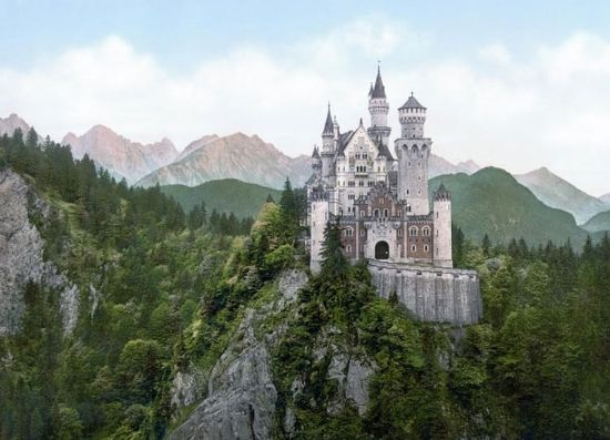 Neuschwanstein Castle--how is this real, omg