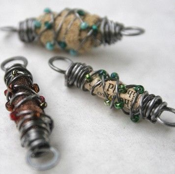 Wire Wrapped Link Tutorial. $9.00, via Etsy.