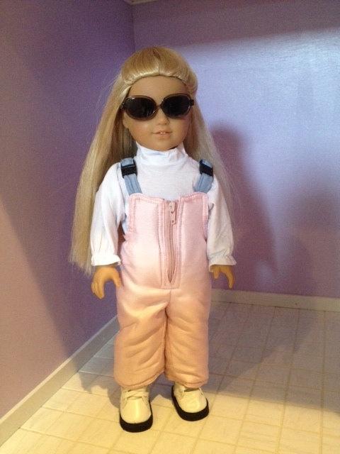 American Girl Doll SKI Set. $39.00, via Etsy.