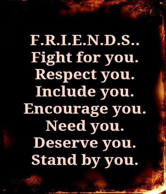 F.R.I.E.N.D.S. Will Be Friends