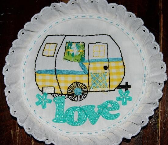 love retro travel trailers