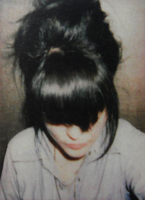 bangs / bun