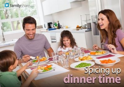 Spicing up dinner time from FamilyShare.com @I ? My Family (FamilyShare.com) #family #dinnertime