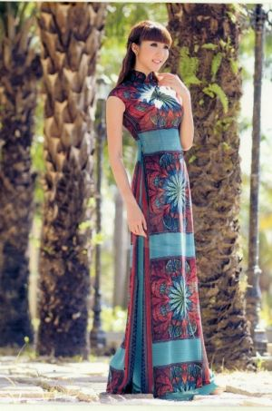 Ao Dai Traditional Vietnamese dress.