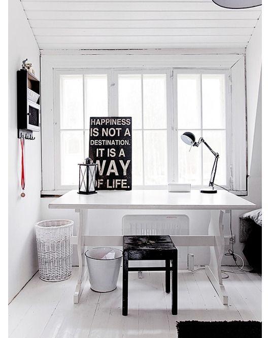 Home office design idea - Home and Garden Design Idea's