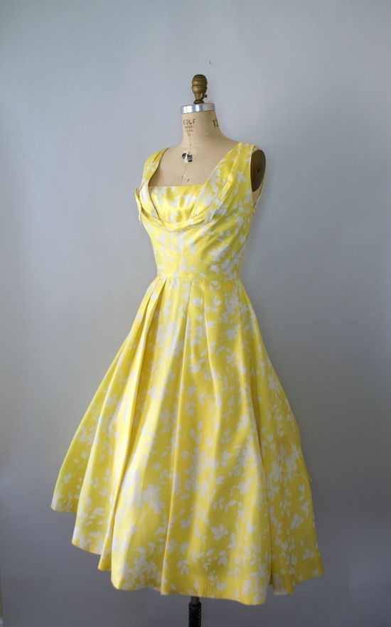 Vintage 1950s Formal  Dress  ~ Frank Starr