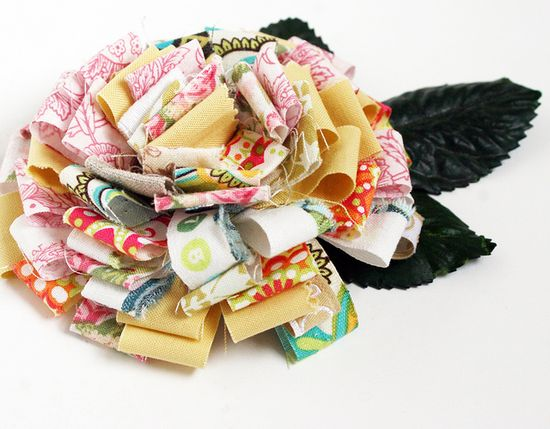 from fabric scraps