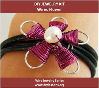 Wired Flower DIY Jewelry Making Kit