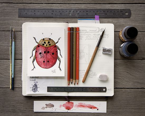 Things for drawings by sue.h on Flickr