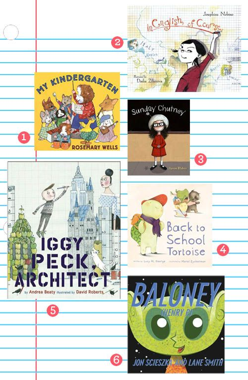 great back to school books