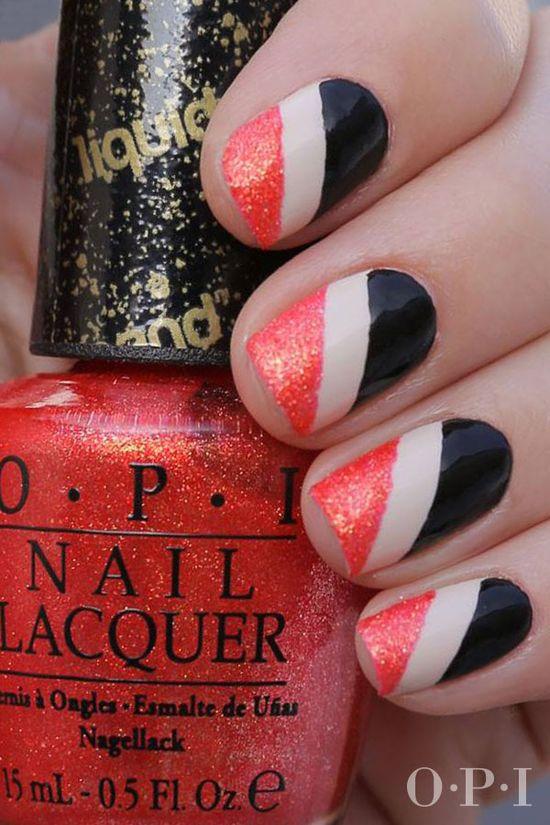 Nail Art Fun! #liquidsand