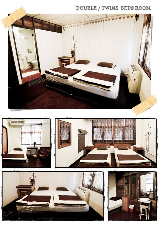 Double / Twin Beds Room
