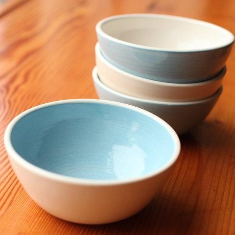 sweet handmade ice cream bowls from Molly Moon!