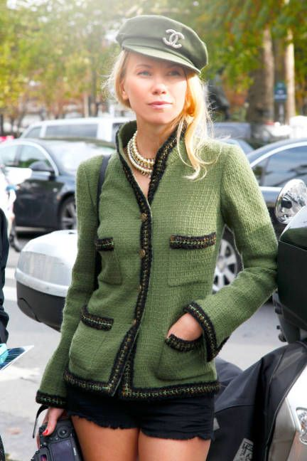 military Chanel! #streetstyle