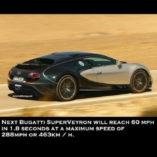 Jaw dropping! My favorite car just got faster! This is absolutely insane! The all new Bugatti Super Veyron