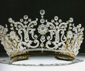 Historic tiara - Poltimore Tiara.JPG