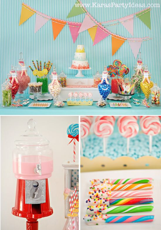 Sweet Shoppe Candy themed birthday party via Kara's Party Ideas karaspartyideas.com #sweet #shoppe #candy #party #dessert #table #birthday #party #ideas #supplies 2