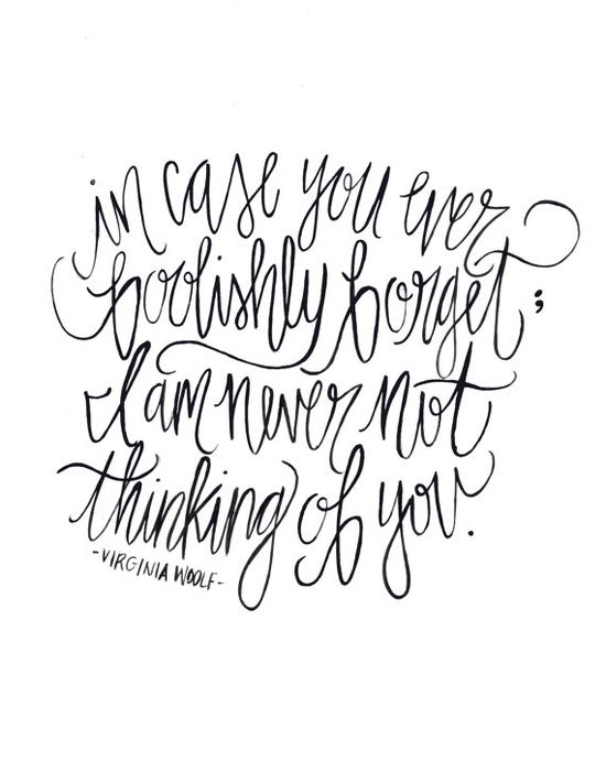 In Case You Foolishly Forget  Calligraphy  Print by ShannonKirsten, $15.00