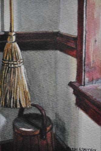 Handmade broom... -- Andy Smith
