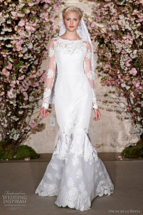 Oscar De La Renta Spring 2012 Wedding Dresses