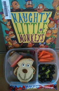 Keitha's Chaos: Naughty Little Monkeys lunch