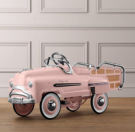 Vintage Pedal Car. @designerwallace