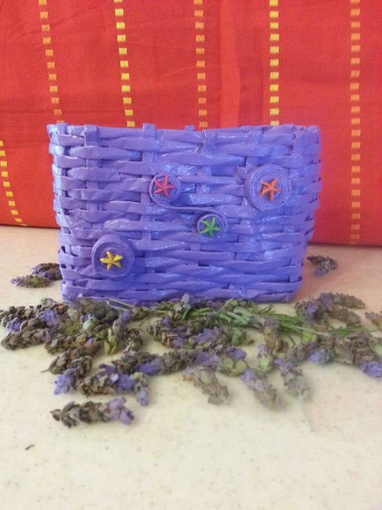 Handmade Paper Basket :)