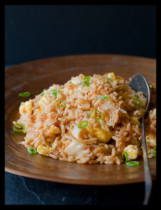 Homemade fried rice - yum!