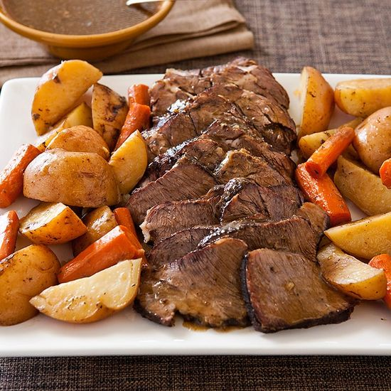 Chuck Roast in Foil Recipe - Cook's Country.