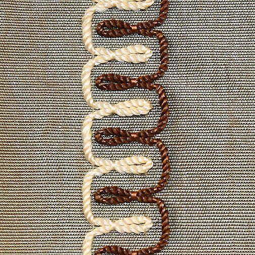 "Evening Dress. ca. 1866. British. Silk. Detail ""stripes"""