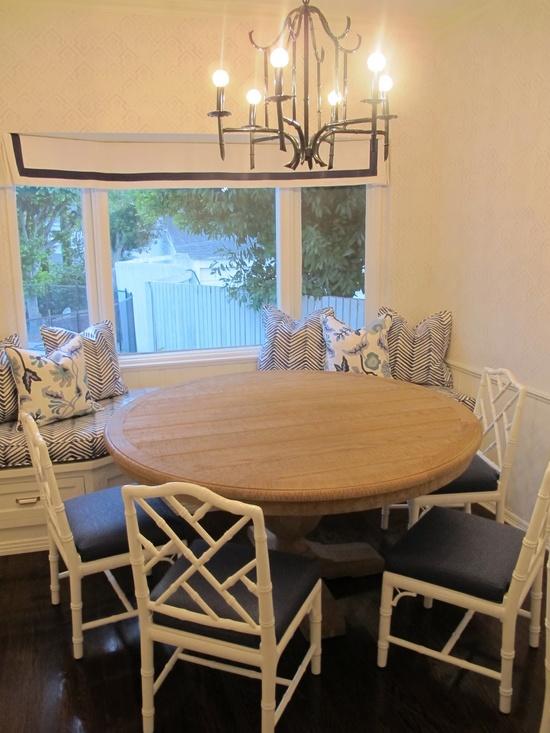breakfast nook  Amber Interior Design: More Install
