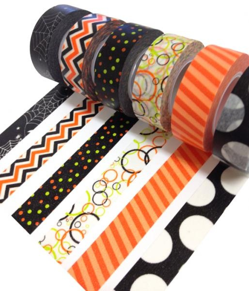 Check out the New Queen & Co Halloween Trendy Tape - Scrapbook.com