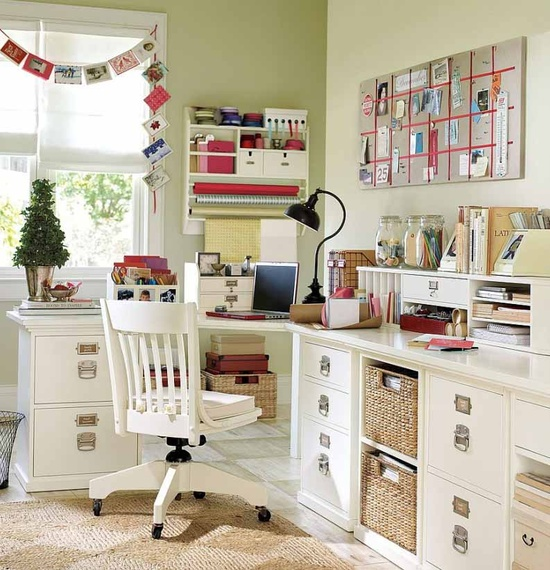 Work at Home So Fun With Home Office Design