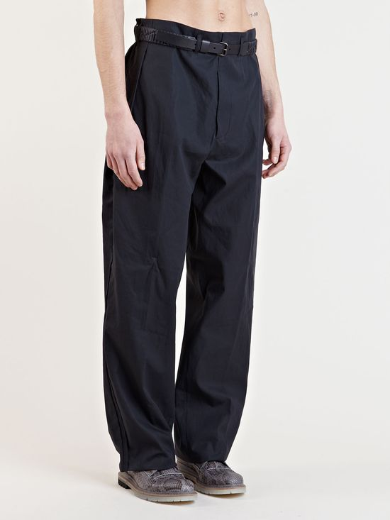 Lanvin Mens Oversized Pants