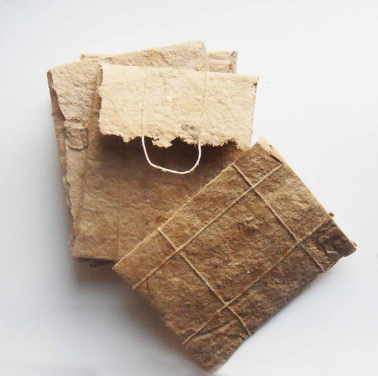 Handmade Paper from UselessPaper via Etsy
