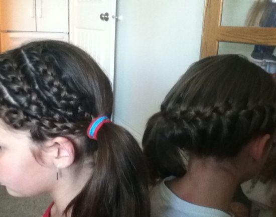 Cute girl hairstyles