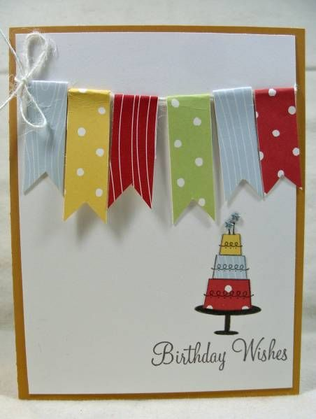 banner birthday card...simple