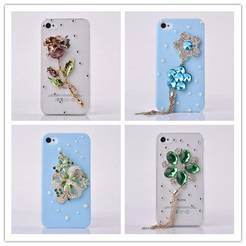 Rose Flowers case for iphone 4colorful rose by necklacejewelry777, $9.90