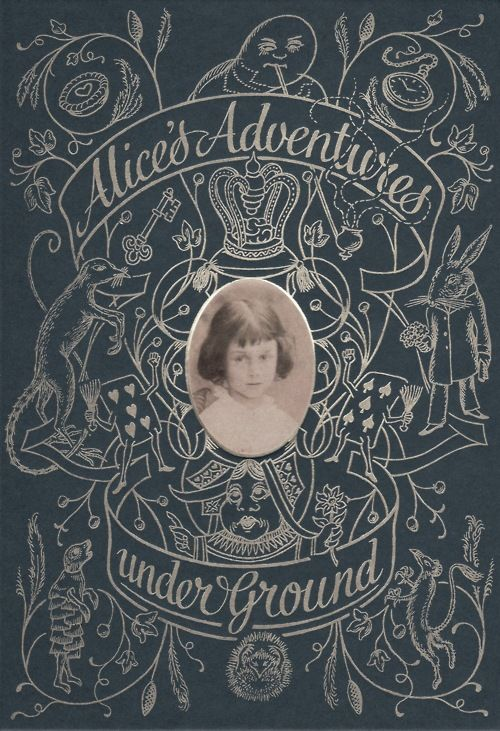 Folio Society  facsimile edition of Lewis Carroll's Alice's Adventures Underground, the manuscript that later became Alice's Adventures in Wonderland.