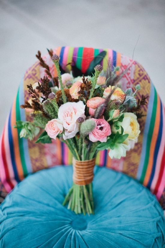 perfect chic wildflower bouquet // photo by AbiQPhotography.com // flowers by ShotgunFloralStud...