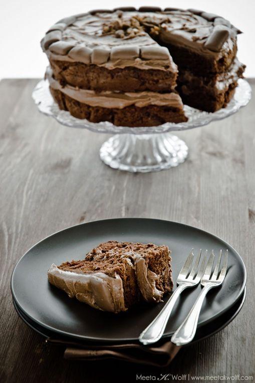 Chocolate Ovalmaltine Daim Cake from @Meeta Wolff