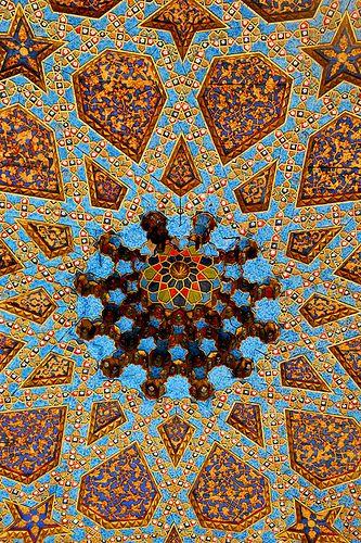 Ceiling in Uzbekistan