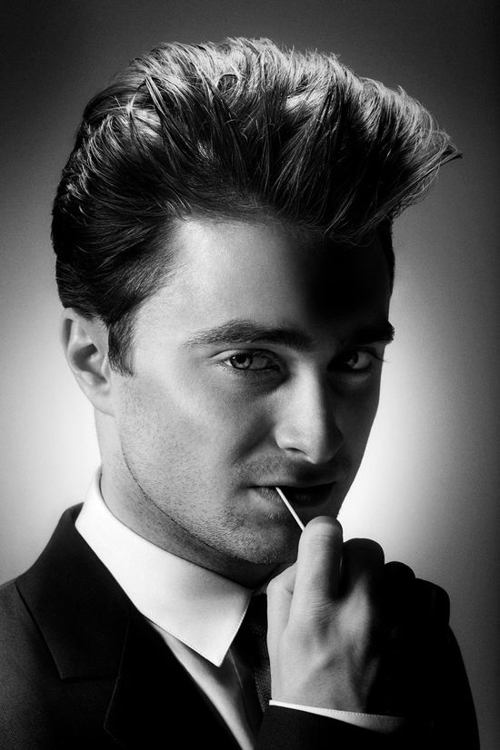 Daniel Radcliffe by James Dimmock