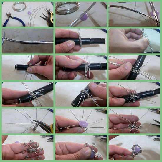 Tutorial. How to make a ring from wire