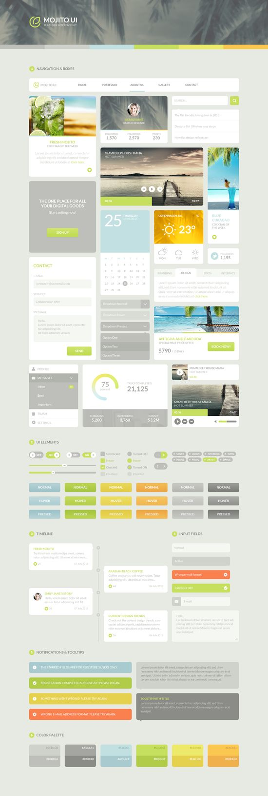 #UI #UX #GUI #UIKit #Design #Dribbble #Userinterface #Interface #Flat #Search #Stylesheet #Mojito
