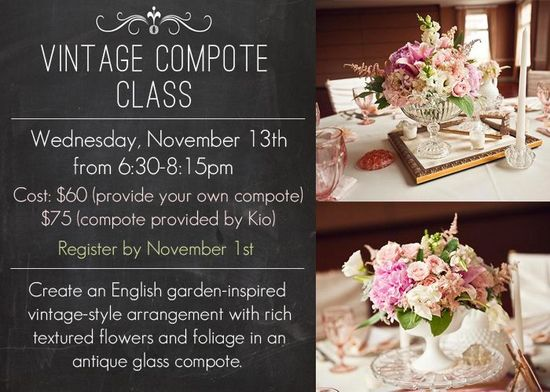 flower arranging class in naperville illinois